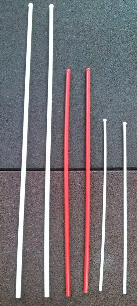 Литые палочки для флажков